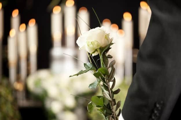 bouquet de fleurs deuil Bruxelles